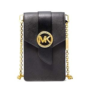 Michael Kors Leather Smartphone Crossbody